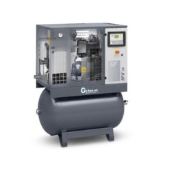 Atlas Copco Kolbenkompressor auf Druckbehälter 120 l LF 15-10/120
