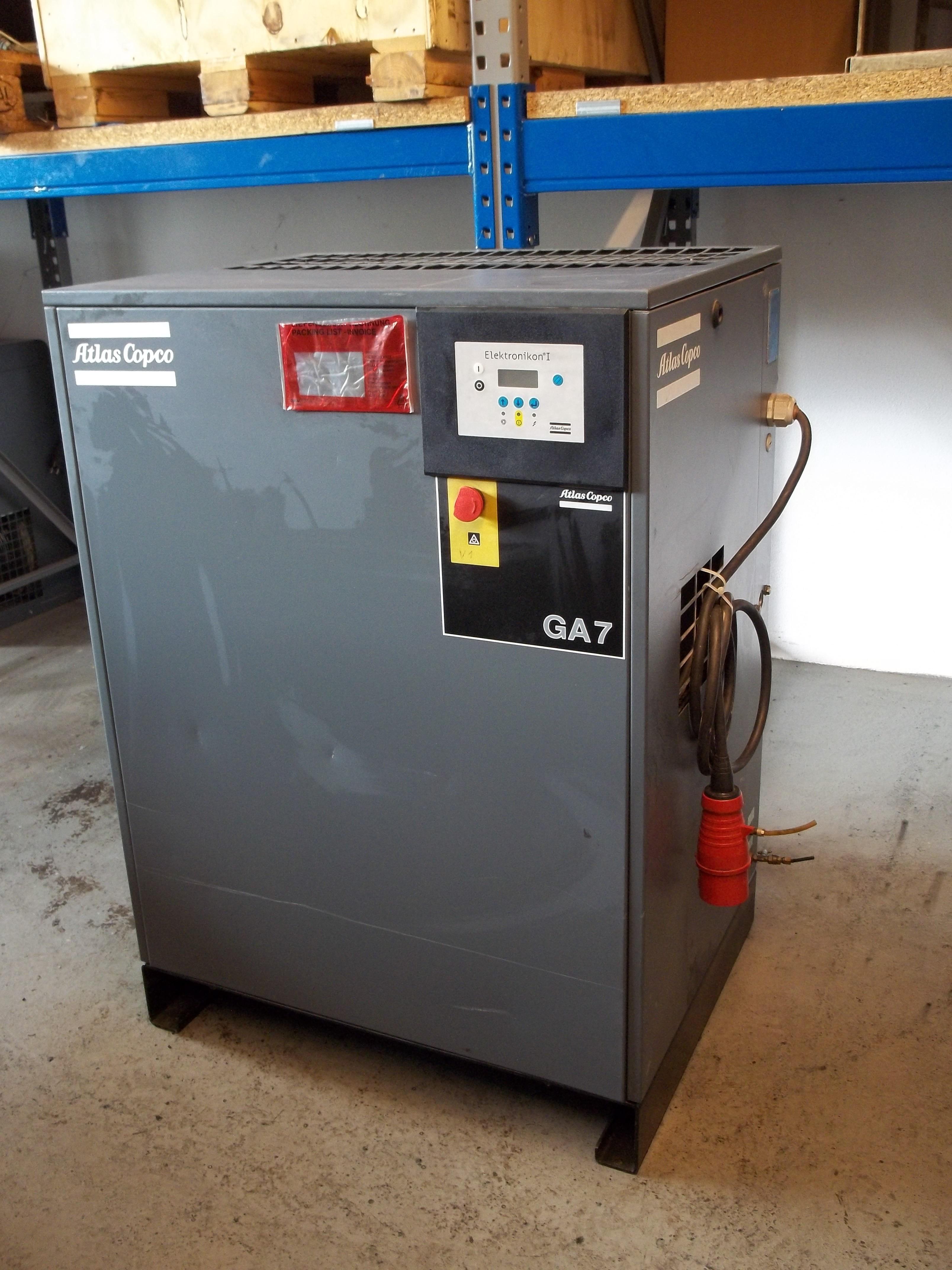 GA 7-8 FF mit integriertem Kältetrockner