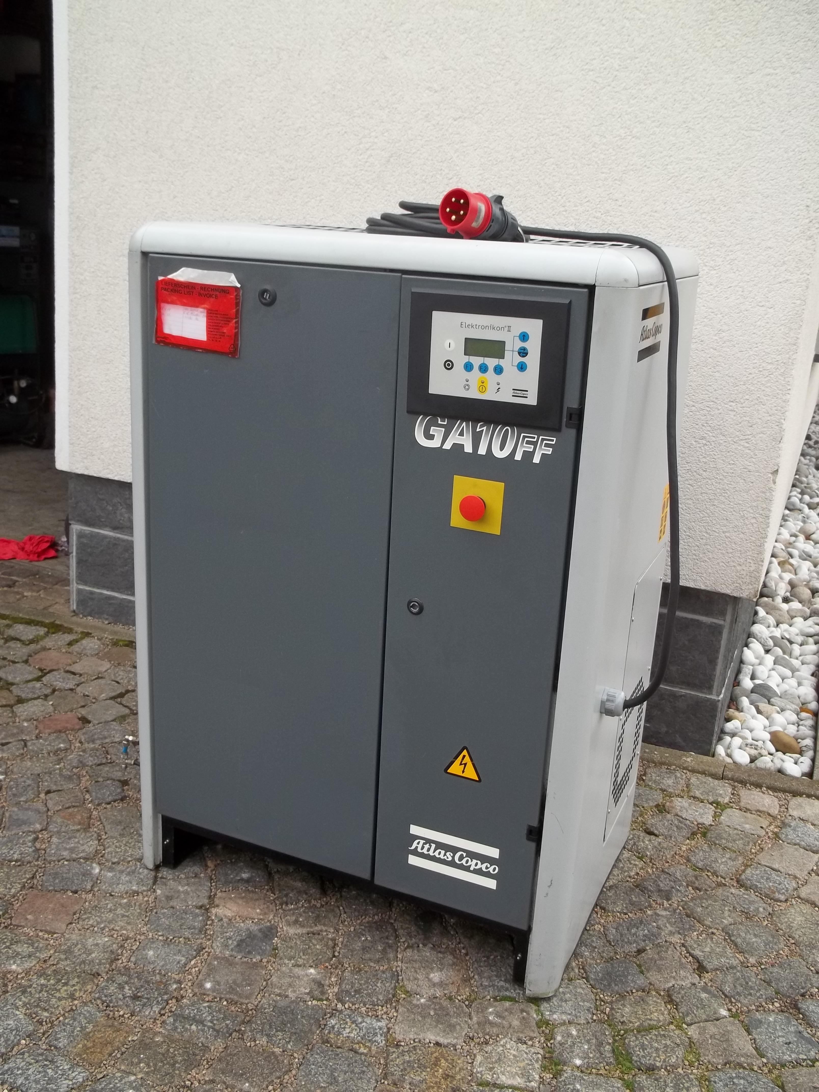 GA 10-8 FF mit integriertem Kältetrockner