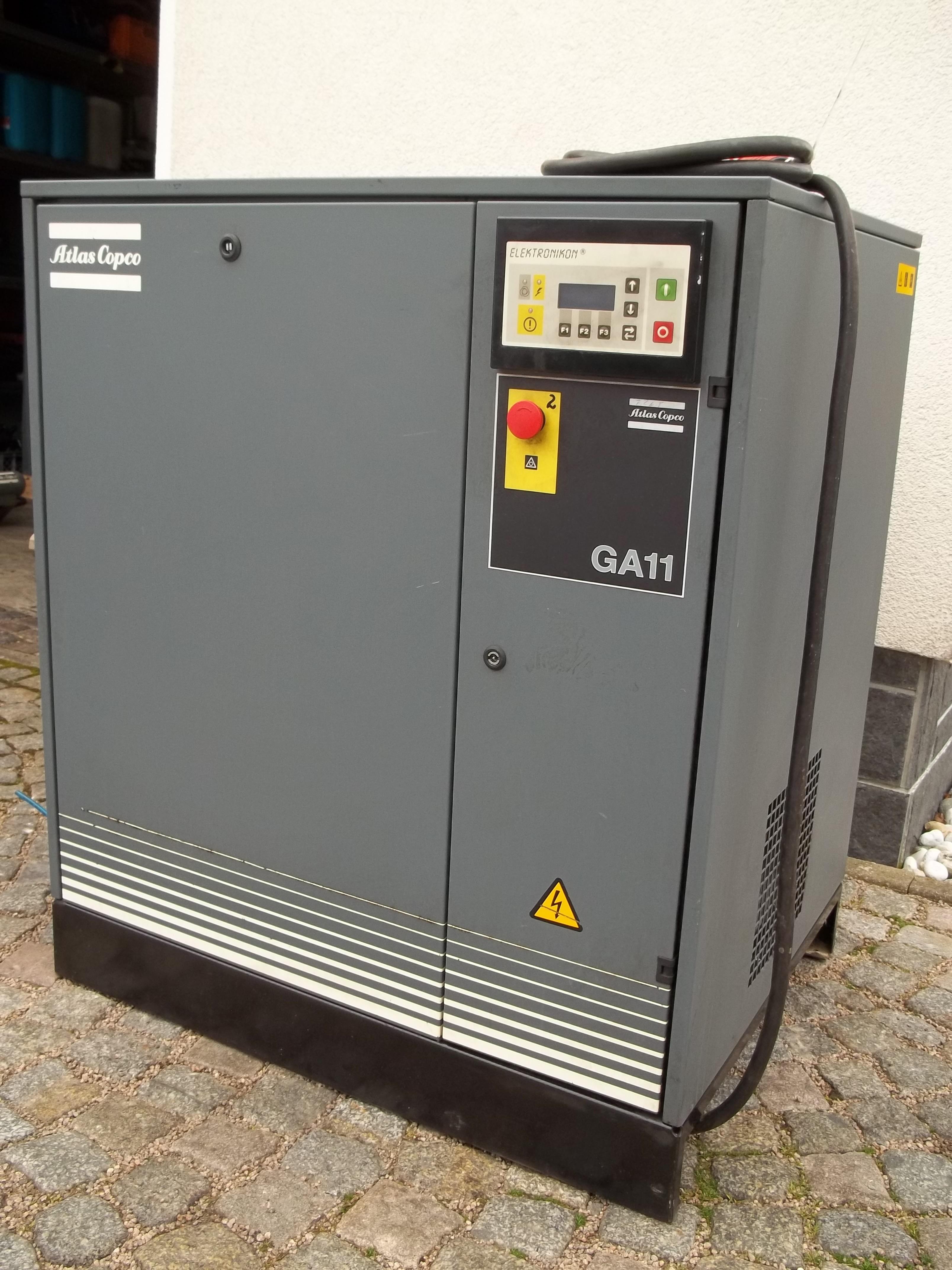 GA 11-10 FF mit integriertem Kältetrockner