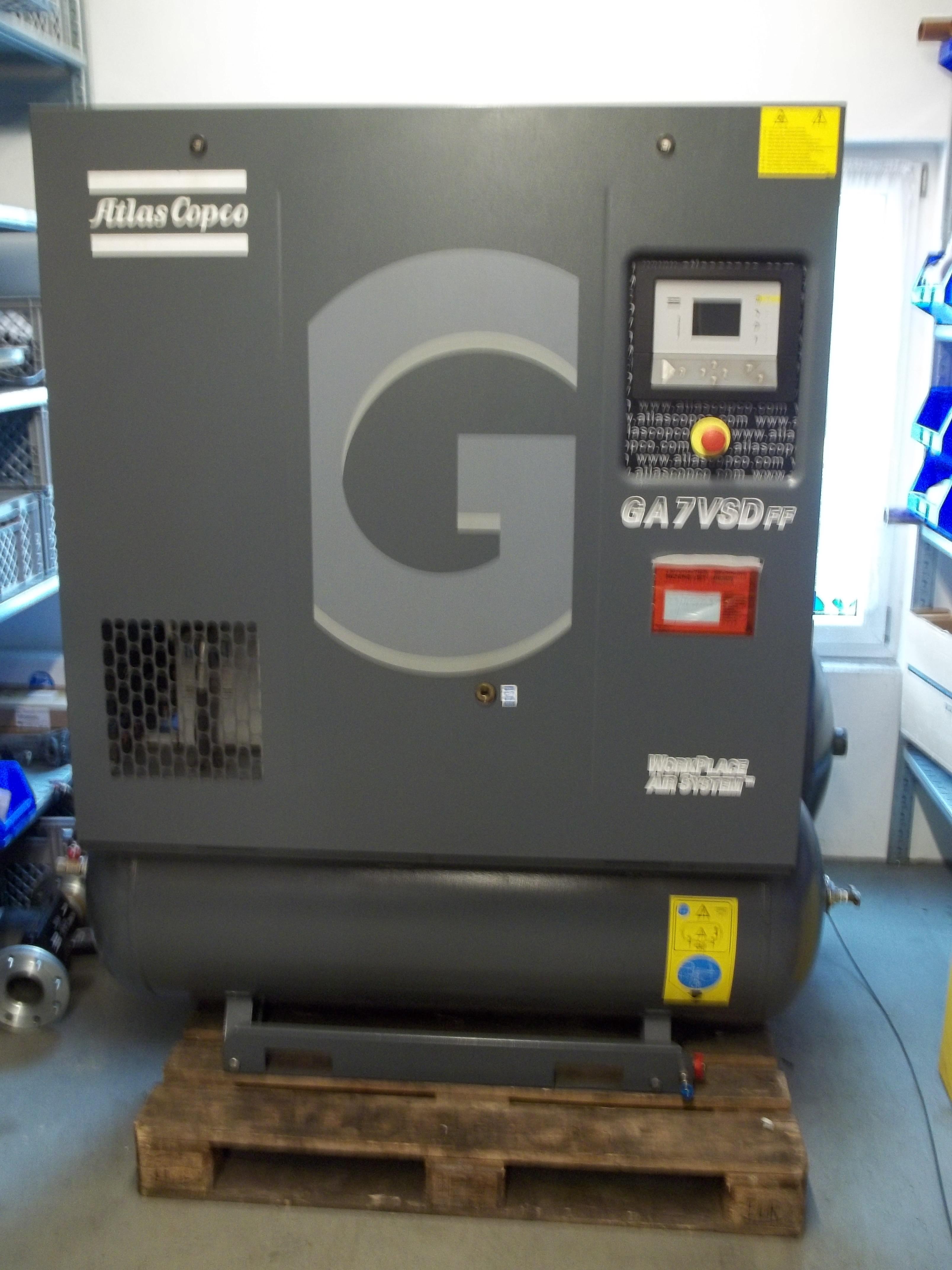 GA 7-13 VSD FF/270 mit integriertem Kältetrockner