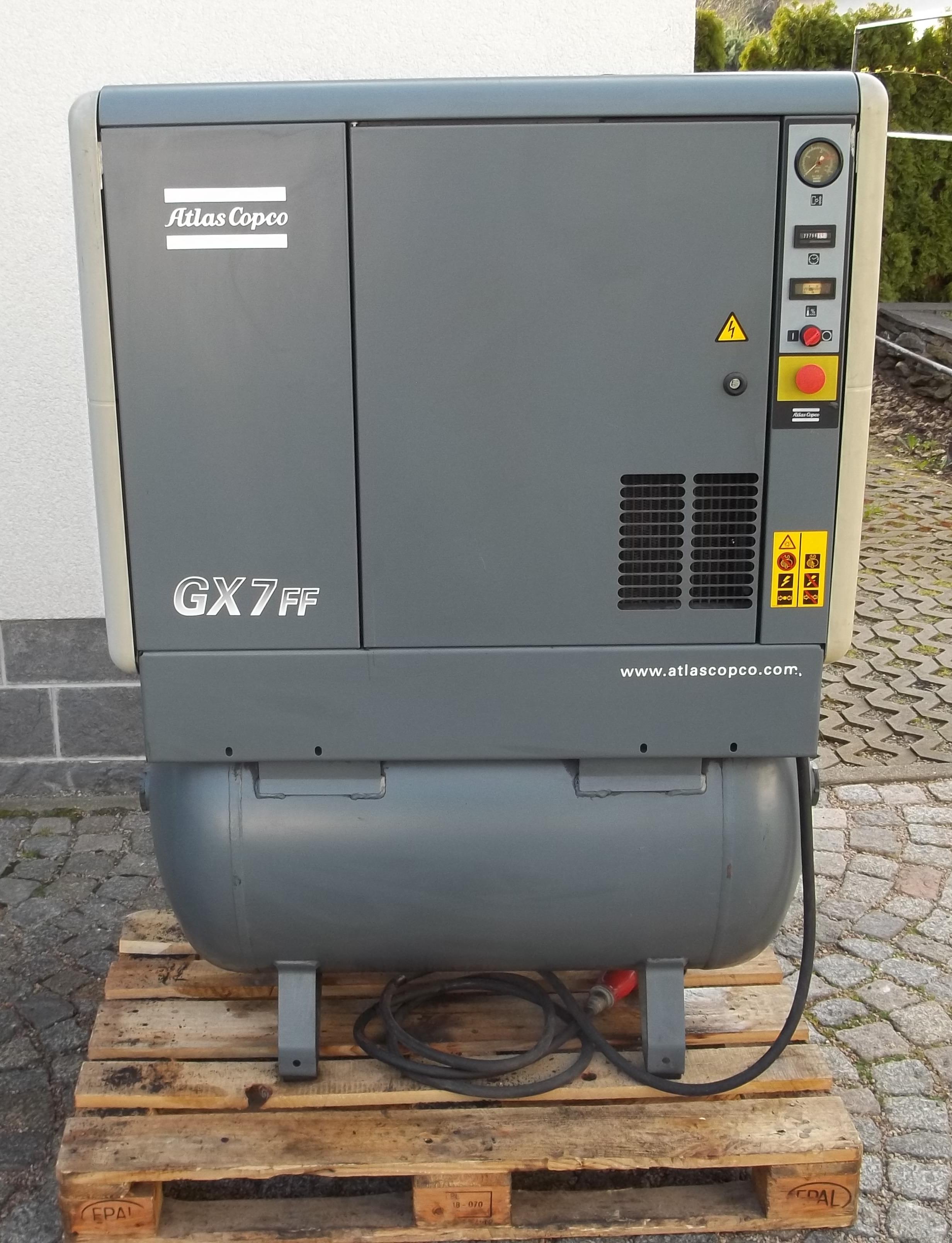 GX 7-17,5 FF/270 – Bj. 2001mit integriertem Kältetrockner