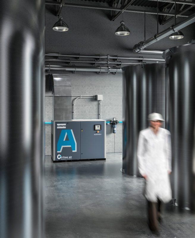 AQ – Wassereingespritzte ölfreie Schraubenkompressoren