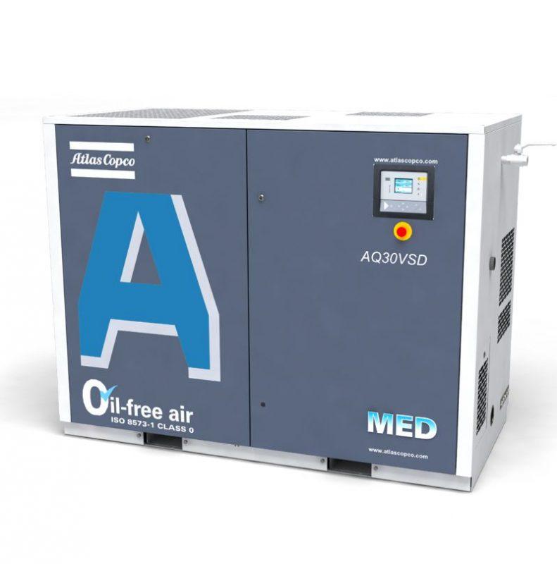 Wassereingespritzte AQ-MED-Kompressoren