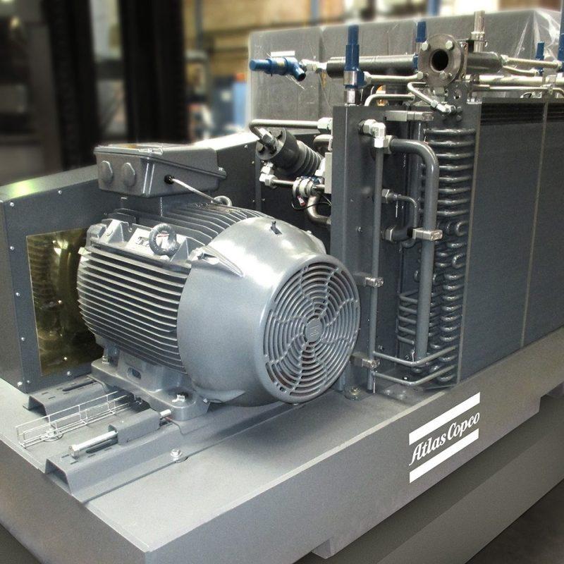 Hochdruck-Tauchkolbenkompressoren der Serie C