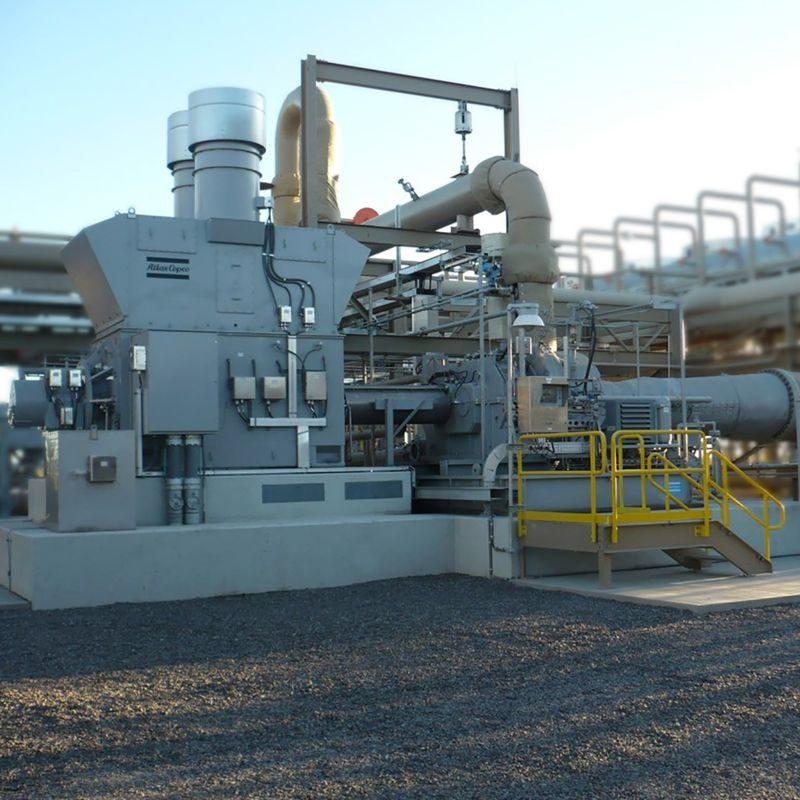 Expander-Generatoren der EG-Serie für Geothermie und Abwärme