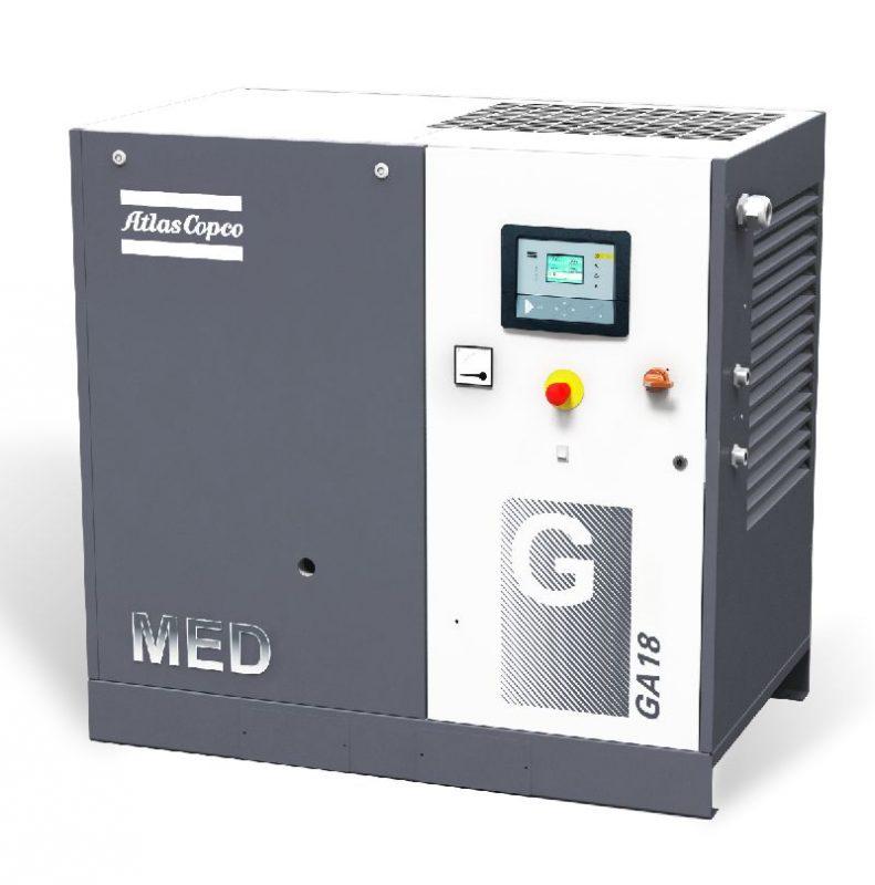Öleingespritzter GA-MED-Schraubenkompressor