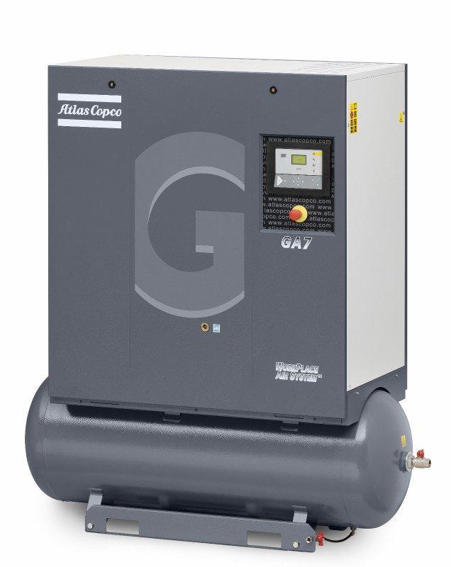 GA 7 Öleingespritzter Schraubenkompressor