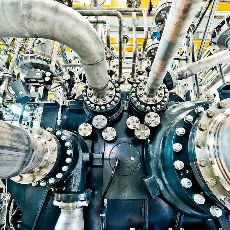 Radialverdichter der Baureihe GT für Luft- und Prozessgasanwendungen