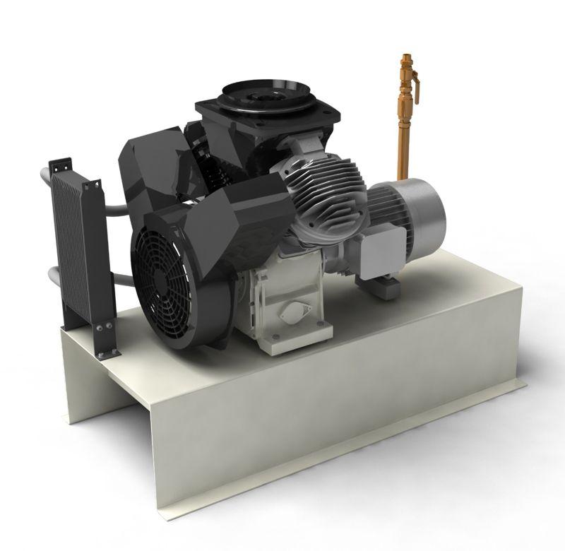 Ölfreie LF-MED-Kolbenkompressoren