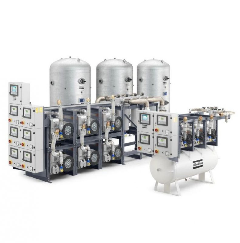 mVAC Medizinische Vakuumanlage