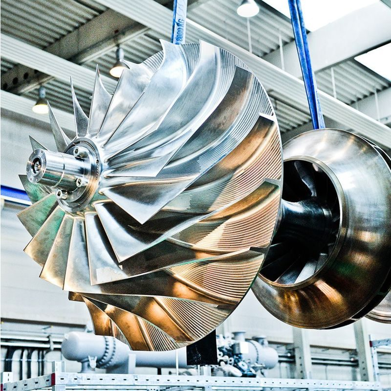 Einwelliger Radial-Turbokompressor