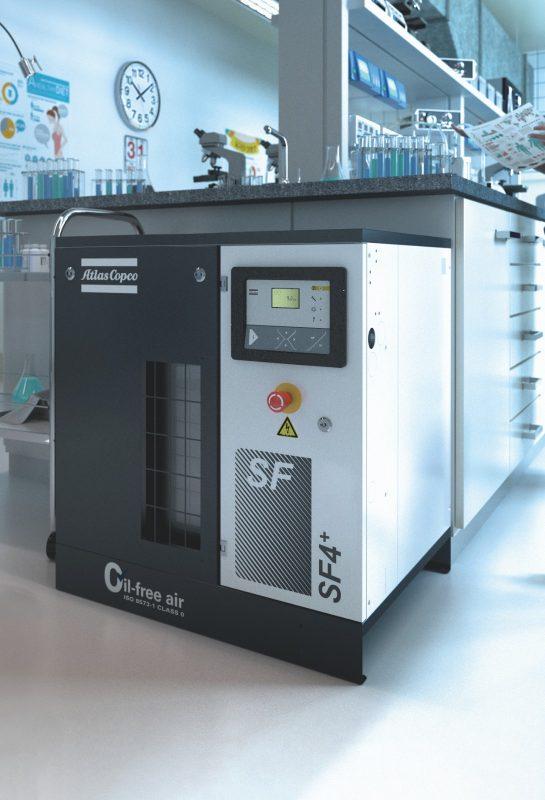 SF und SF+ – Ölfrei verdichtende Scrollkompressoren
