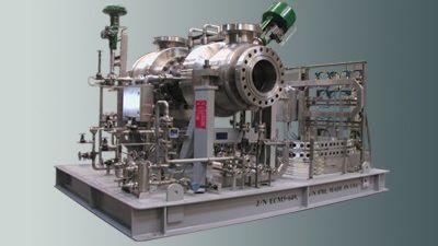 Turbokompressoren und Turboexpander