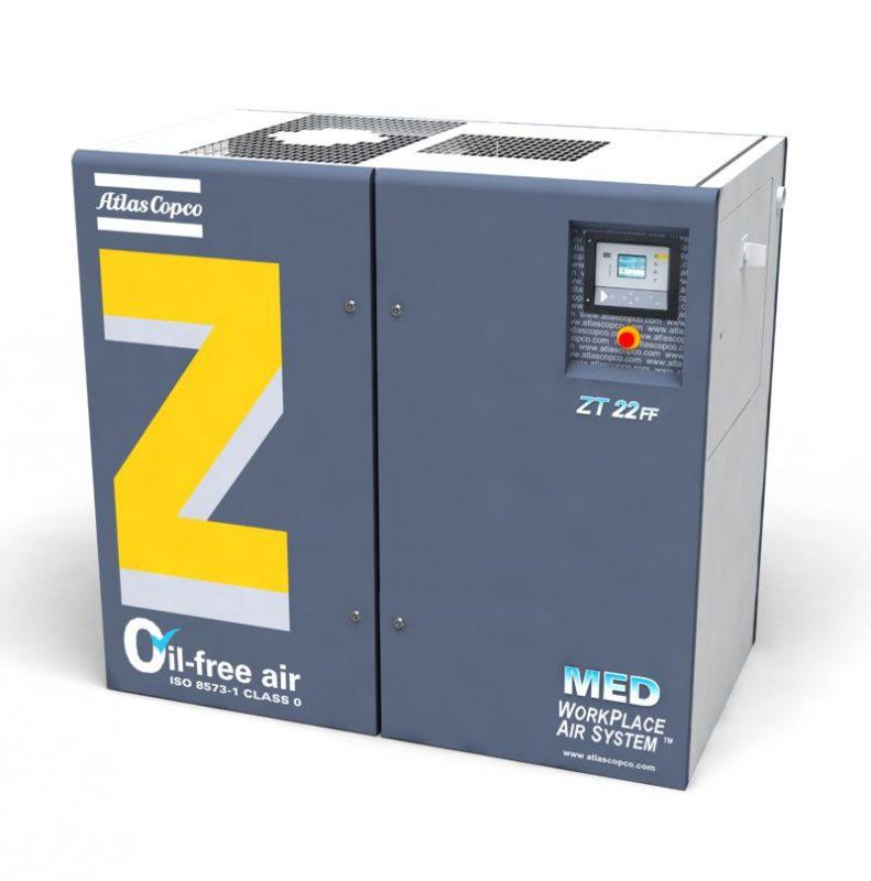 Ölfreier ZT-MED-Drehzahnkompressor